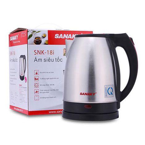 Bình đun siêu tốc Sanaky SNK-18i dung tích 1.8 lít