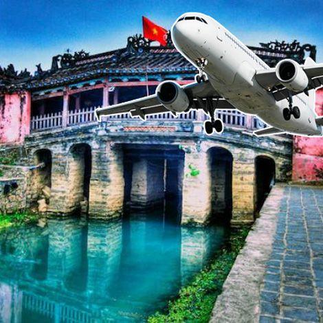 Vé máy bay đi Đà Nẵng tham quan phố cổ Hội An