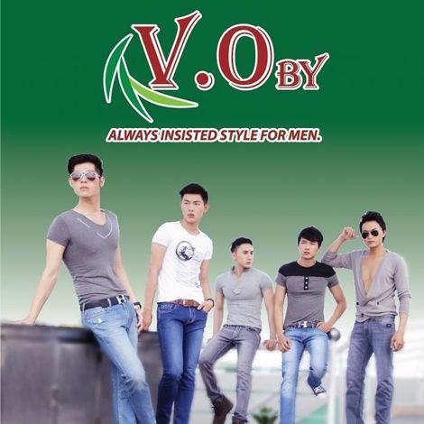 Thời trang nam V.Oby giảm giá 10% trong tháng 8