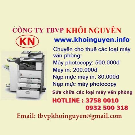 Sửa chữa Máy in - Máy photo - Máy fax tận nơi