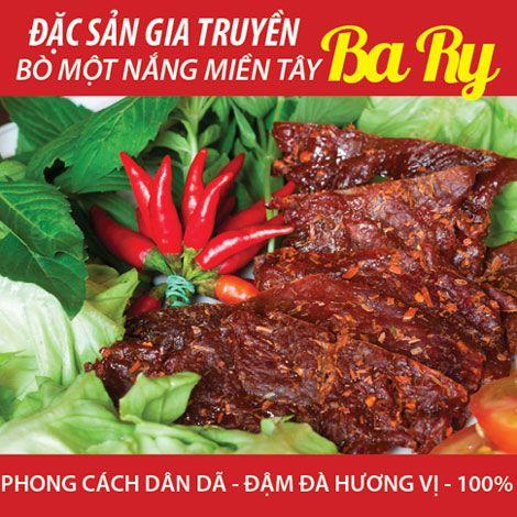 Bò 1 nắng Bary - đặc sản miền Tây