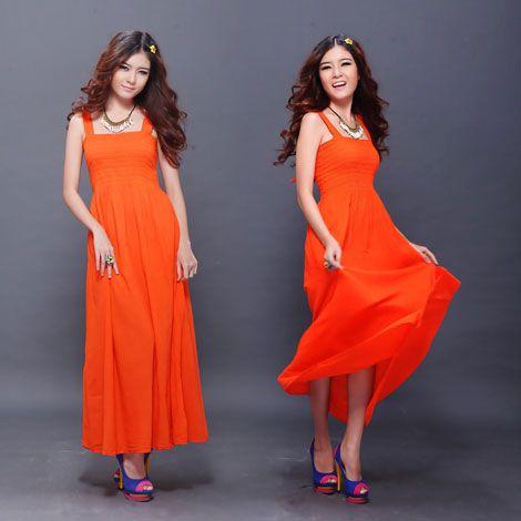 Đầm Maxi dài nữ tính