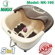 Bồn ngâm chân massage Nikio NK-195 giúp cải thiện giấc ngủ