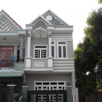 Nhà 1 trệt 1 lầu trên đường Phan Văn Hớn quận 12