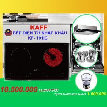 Siêu giảm giá bếp điện từ đôi Kaff KF-FL101IC