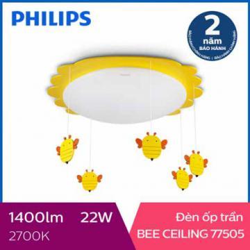 Đèn ốp trần phòng trẻ em Philips LED Bee 77505 22W