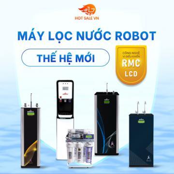 Tin vui - Máy lọc nước ROBOT thế hệ mới, công nghệ RMC - LCD