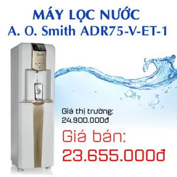 Máy lọc nước A. O. Smith ADR75-V-ET-1