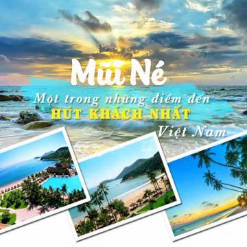 Mũi Né - một trong những điểm đến hút khách nhất Việt Nam