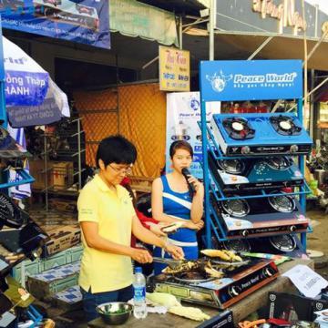 Bếp gas hồng ngoại - Các cửa hàng Peace World tại miền Tây