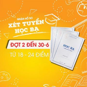 HUTECH nhận hồ sơ xét tuyển học bạ đợt 2 đến 30-6, từ 18 - 24 điểm