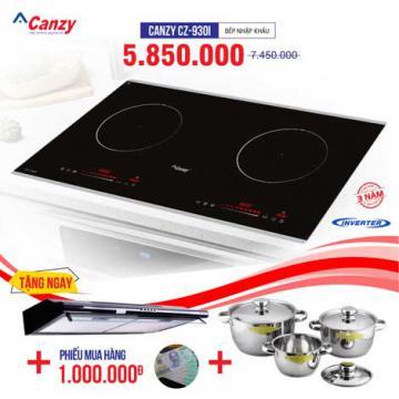 Xả kho bếp từ đôi CANZY CZ-930I chỉ từ 3.250.000đ