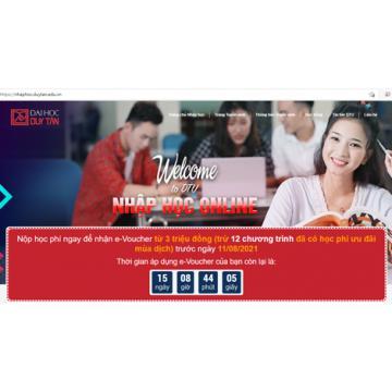 Nhập học Online vào ĐH trước 11-8 để nhận ngay 3 triệu đồng