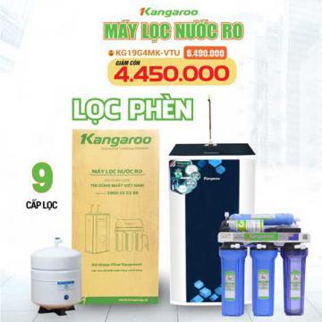 Máy lọc nước nhiễm phèn RO KANGAROO KG19G4MK-VTU