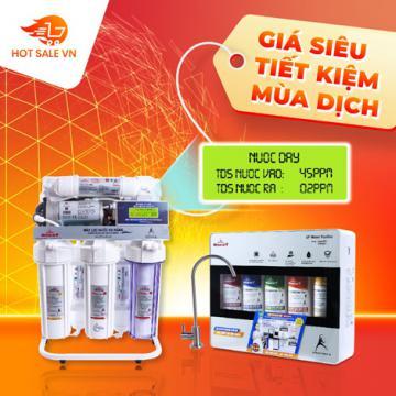 Bộ đôi lọc nước siêu đẳng cho nhà bếp - siêu tiết kiệm chỉ từ 1.943.000đ