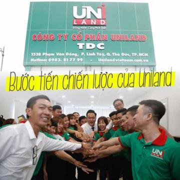 Bước tiến chiến lược của Uniland