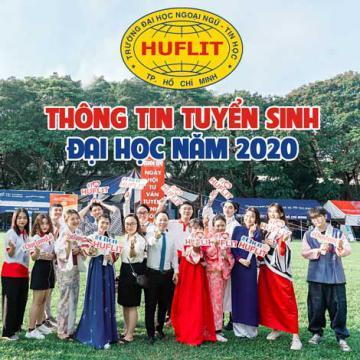 Thông tin tuyển sinh đại học năm 2020 của HUFLIT