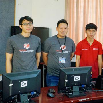 SV ĐH Duy Tân nằm trong Top 10 tại Cuộc thi HITB GSEC 2016
