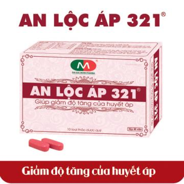An Lộc Áp 321 hỗ trợ điều trị biến chứng tim mạch