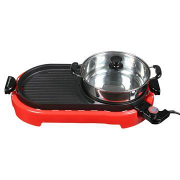 Bếp lẩu nướng QueenHouse QH-223NL