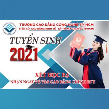 Trường CĐ Công nghệ TP.HCM xét học bạ cấp 2, 3 vào học CĐ chính quy