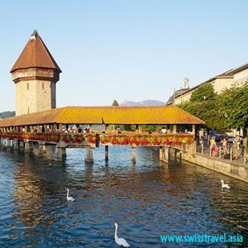 Tour châu Âu - Cộng hòa Séc, Áo, Thụy Sĩ