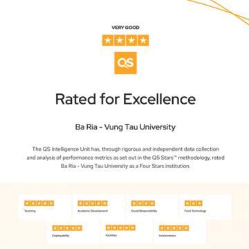 BVU đạt chuẩn chất lượng 4 sao quốc tế