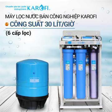 Máy lọc nước RO không tủ bán công nghiệp KAROFI KT-KB30