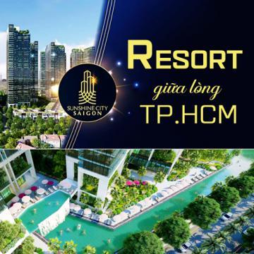 Sunshine City Sài Gòn - Resort giữa lòng TP.HCM