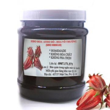 Siro hoa Atiso đỏ - Siro Hibiscus