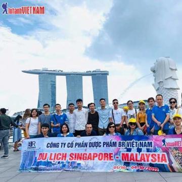 Tour Singapore - Malaysia Tết Canh Tý giá từ 11,9 triệu đồng