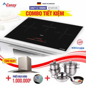 Bếp từ 3 lò Canzy CZ-999DHI