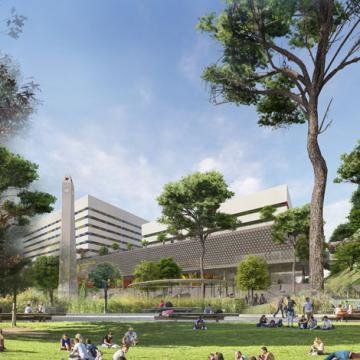 Campus đẹp như resort của BVU chuẩn bị khởi công