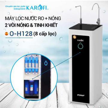Xả kho máy lọc nước RO 2 vòi KAROFI HOT O-H128