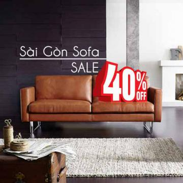 Sài Gòn Sofa sale 40%