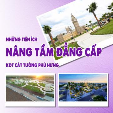 Những tiện ích nâng tầm đẳng cấp KĐT Cát Tường Phú Hưng