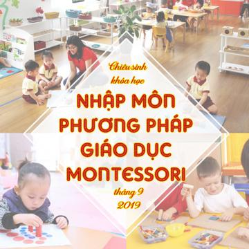 Chiêu sinh khóa học nhập môn PP giáo dục Montessori tháng 9-2019