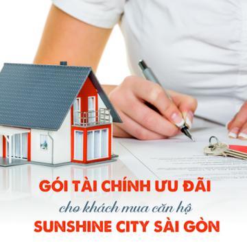 Gói tài chính ưu đãi cho khách mua căn hộ Sunshine City Sài Gòn