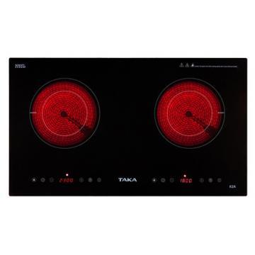 Bếp hồng ngoại đôi Taka TK-R2A