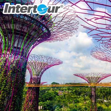 Các điểm du lịch nổi tiếng Singapore, Malaysia, Indonesia