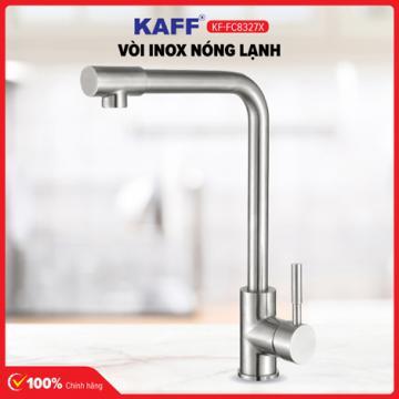 Vòi rửa bát inox 304 nóng lạnh KAFF KF-FC8327X