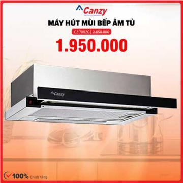 Xả kho máy hút mùi âm tủ 7 tấc Canzy CZ-7002G giá 1.950.000đ