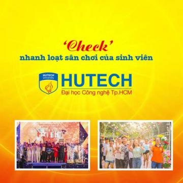 Check nhanh loạt sân chơi của sinh viên HUTECH