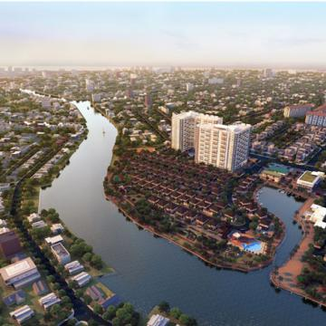Dự án Condo cao cấp khu Đông TPHCM với ba mặt hướng sông