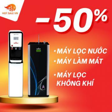 Flash sale mỗi ngày đến 50%, máy lọc nước nóng lạnh công nghệ mới