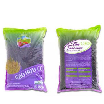 Gạo hữu cơ thảo dược tím 5kg giao hàng tận nơi