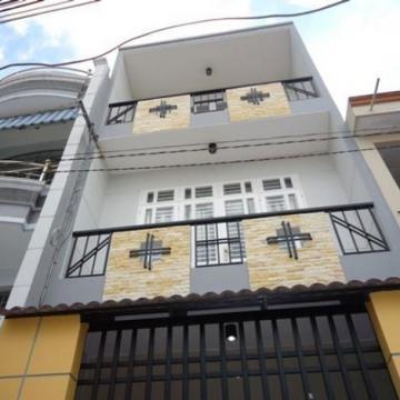 Nhà hẻm 5m đường Nguyễn Đình Khơi quận Tân Bình