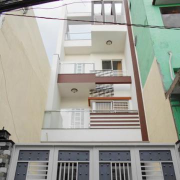 Nhà mới xây 2 mặt tiền đường Khuông Việt quận Tân Phú