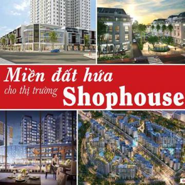 Miền đất hứa cho thị trường shophouse