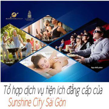 Tổ hợp dịch vụ tiện ích đẳng cấp của Sunshine City Sài Gòn
